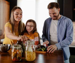Receta para preparar en familia